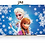 Thumbnail: Frozen Sublimation Print Snowflake Kiss Lock Wallet