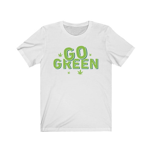 Go Green Vegan T Shirt, Vegan Gifts, Funny T Shirts, Plant Based, Birthday Gift