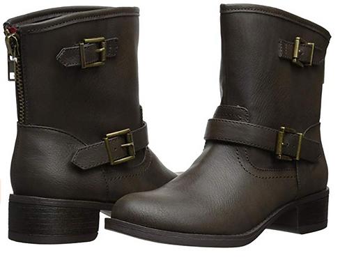 Wild Pair Women's Othello Engineer Boot - Brown