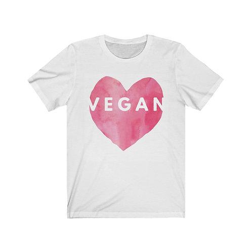 Big Heart Vegan T Shirt, Vegan Gifts, Funny Shirt, Plant Based, Birthday Gift