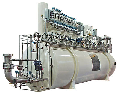 Helium Liquefier Vacuum Cold Box - 835Liters/Hour - Final Assembly