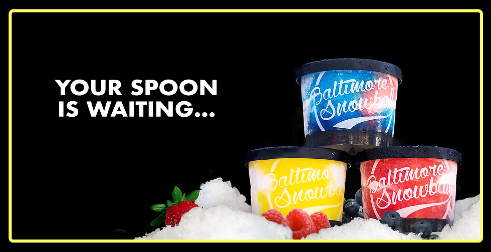 Your Spoon Is waiting prepackaged snowballs
