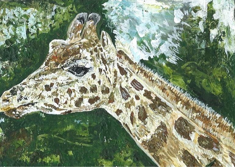 Hendrick's the Giraffe