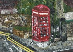 London Telephone Box 2015