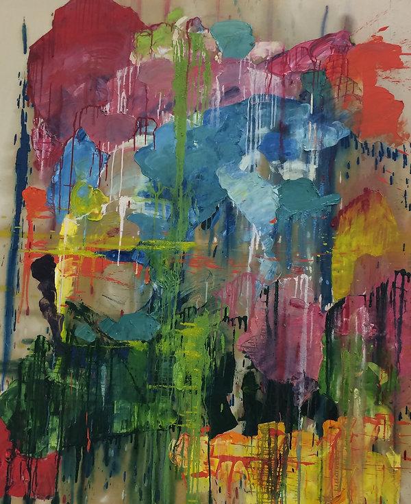 Abstract Season Themed Painting