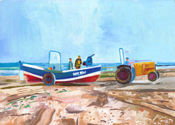 Redcar Beach Boat & Tractor 2012