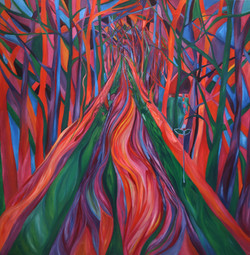 Path under Trees 2010