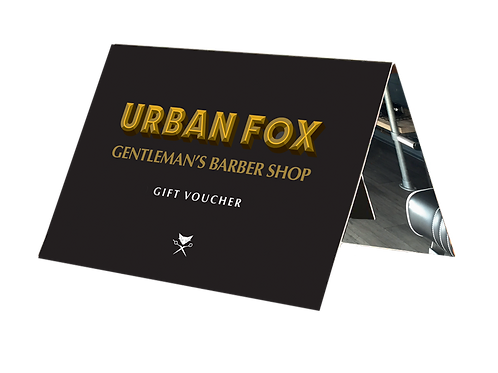 Men's grooming Gift Voucher