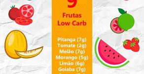 9 Frutas Low Carb