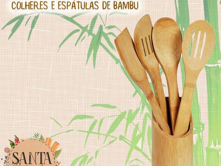 Colher de Bambu