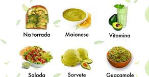 Diversas maneiras de comer abacate