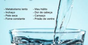 Bebendo pouca água?