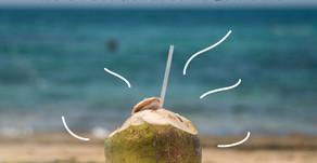 Água de coco, pode?