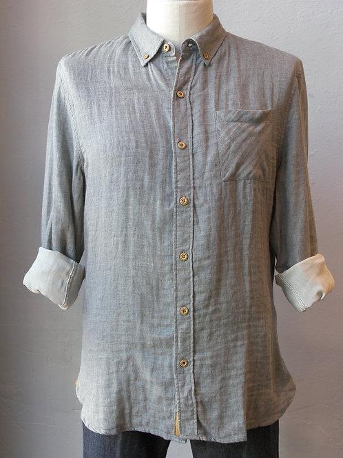 Gray Truman Double Face Shirt