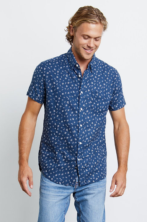 Oahu Blue Carson Shirt