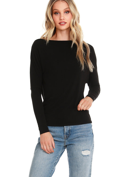 Cosmo Boatneck Top