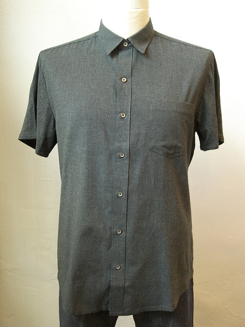 Heather Reworked Short Sleeve Shirt