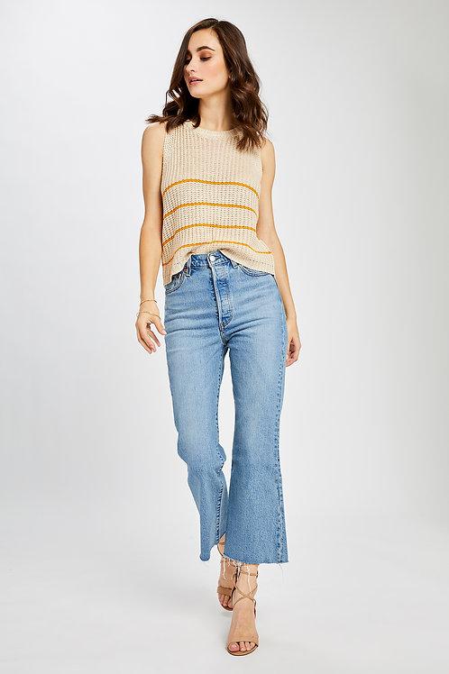 Stripe Dunbar Sweater