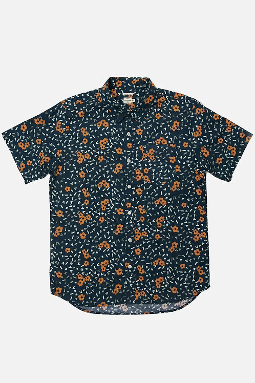 Harbor Hibiscus Print Shirt