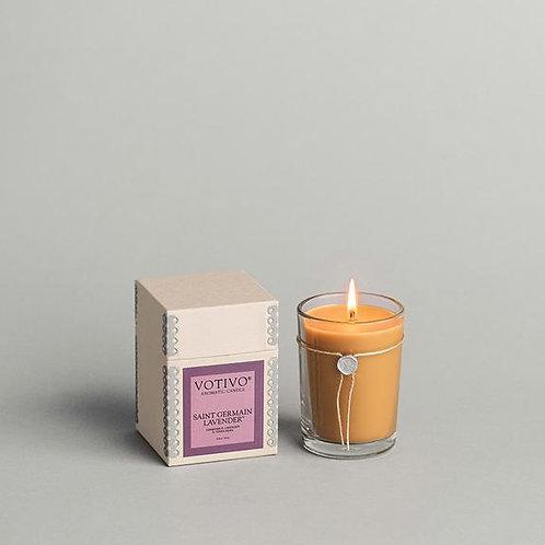 Saint Germain Lavender Candle