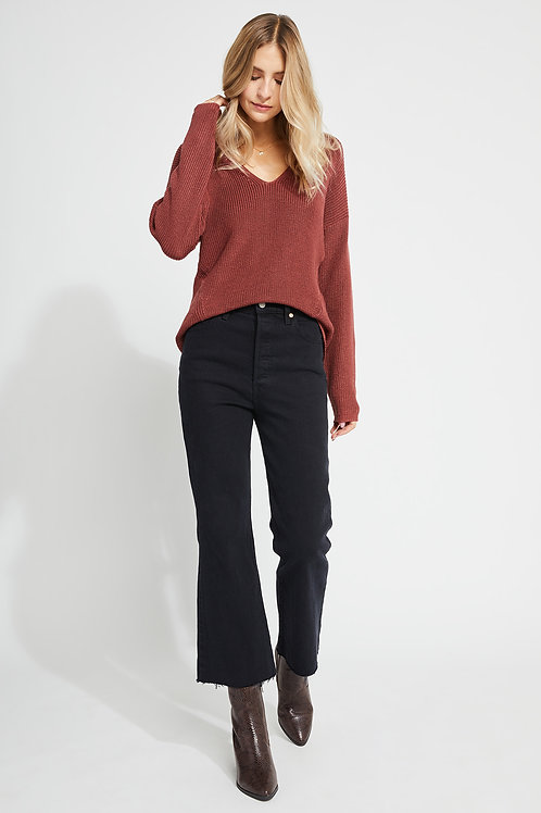 Sandalwood Tucker Sweater