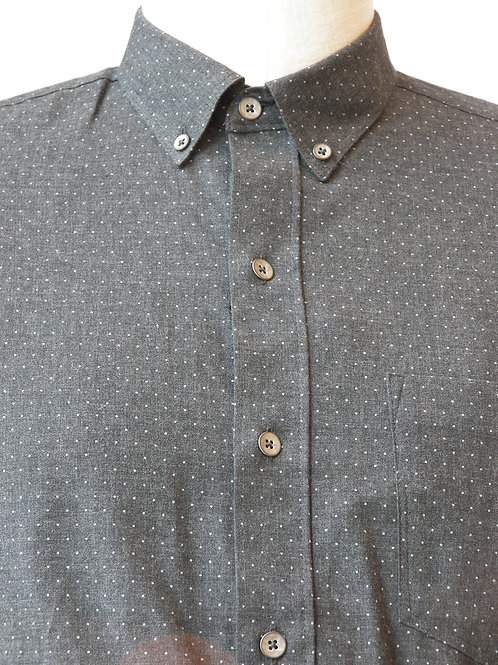 Charcoal Dot Shirt