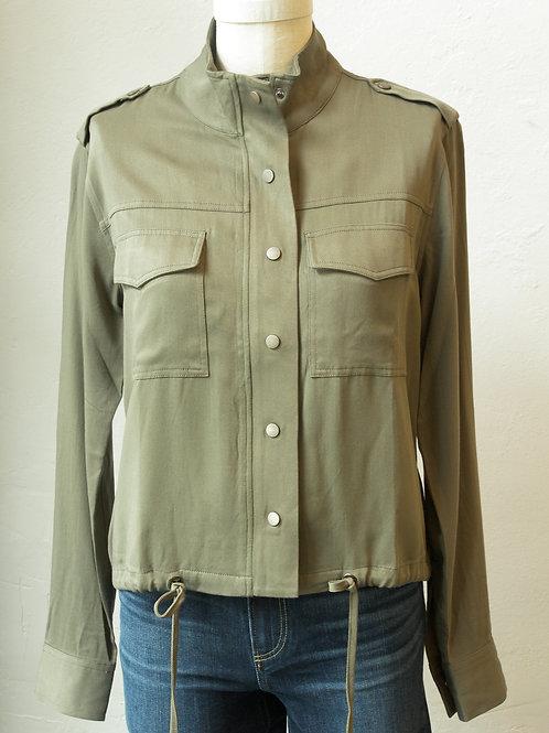 Drawstring Hem Jacket