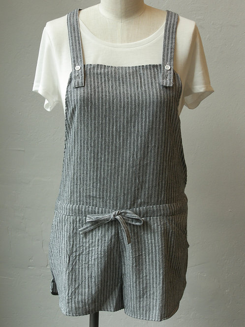 Seaside Stripe Shortalls
