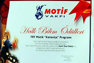 Mircan Kaia was awarded the Ethnology Award for her TV shor Kanaviçe by MOTIF Foundation.