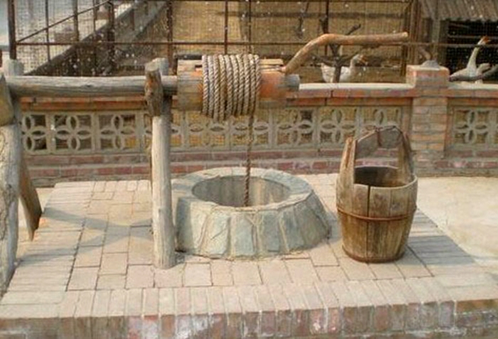 An ancient well in China