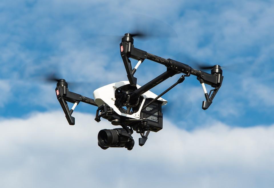 古蹟保存的三維建模中,無人機扮演重要角色。圖片來源:DJI官網