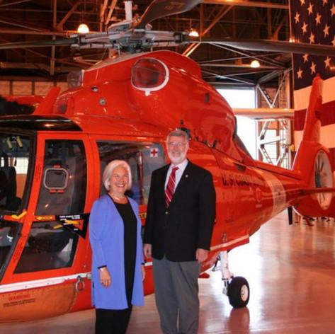 At the US Coast Guard Air Station Kodiak