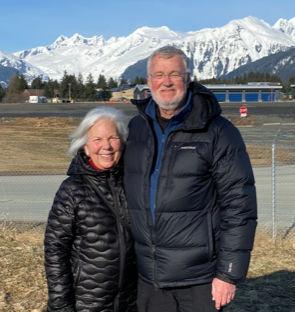 On a Juneau walk with Rita
