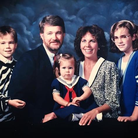 The Stevens family, way back when..