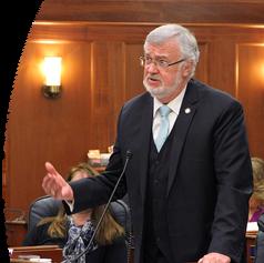 Speaking on the Senate Floor
