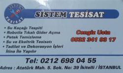 SİSTEM TESİSAT