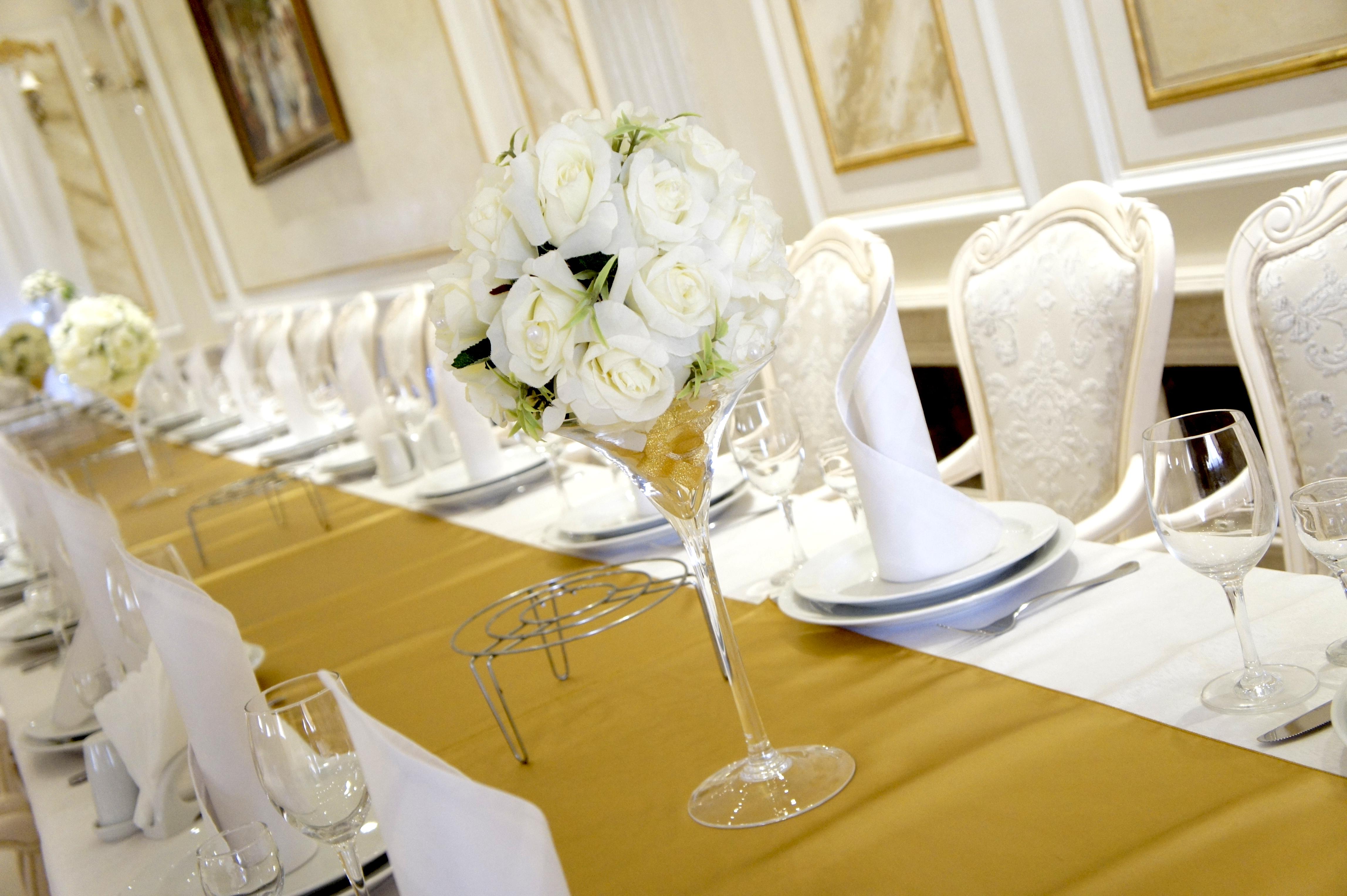 Ваза на стол гостей