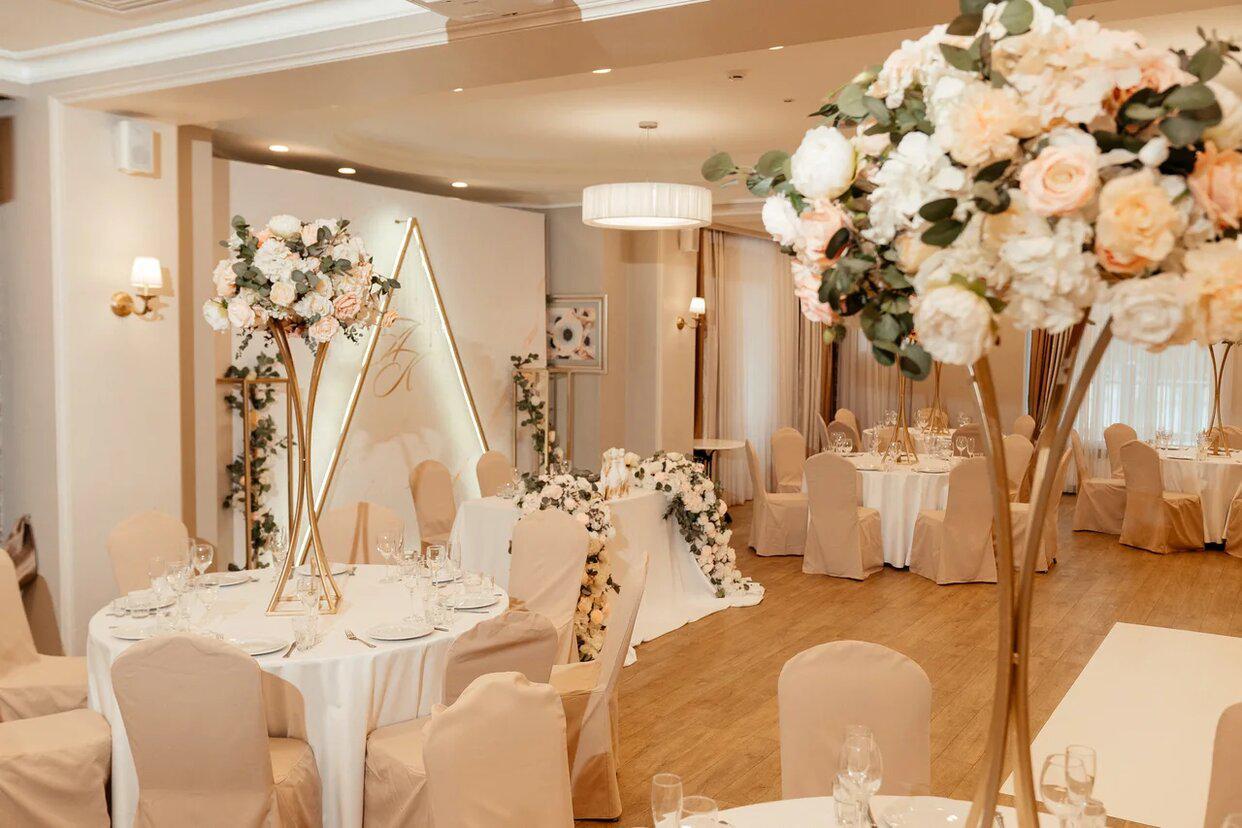 Оформление свадьбы цветами. Красивая свадьба. Стиль, цвет, концепция - декор-студия Prezent
