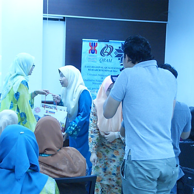 East Regional Qualitative Research Seminar UMK