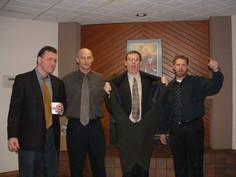 Dave Farris, Buck Hale, Gene Paulsen, Kevin Maloney