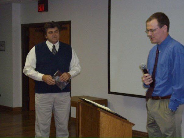 (Left) Dan Culbertson - 2008 Inductee (Right) Gene Paulsen - 2011 Inductee