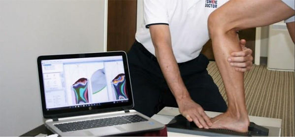 3D mapping foot scan