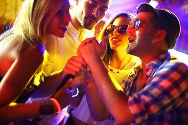 vrienden karaoke