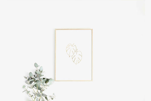 With Nature in Mind: Monstera