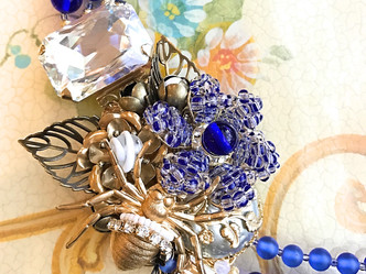 "Costume jewelry of ""Royal blue"""