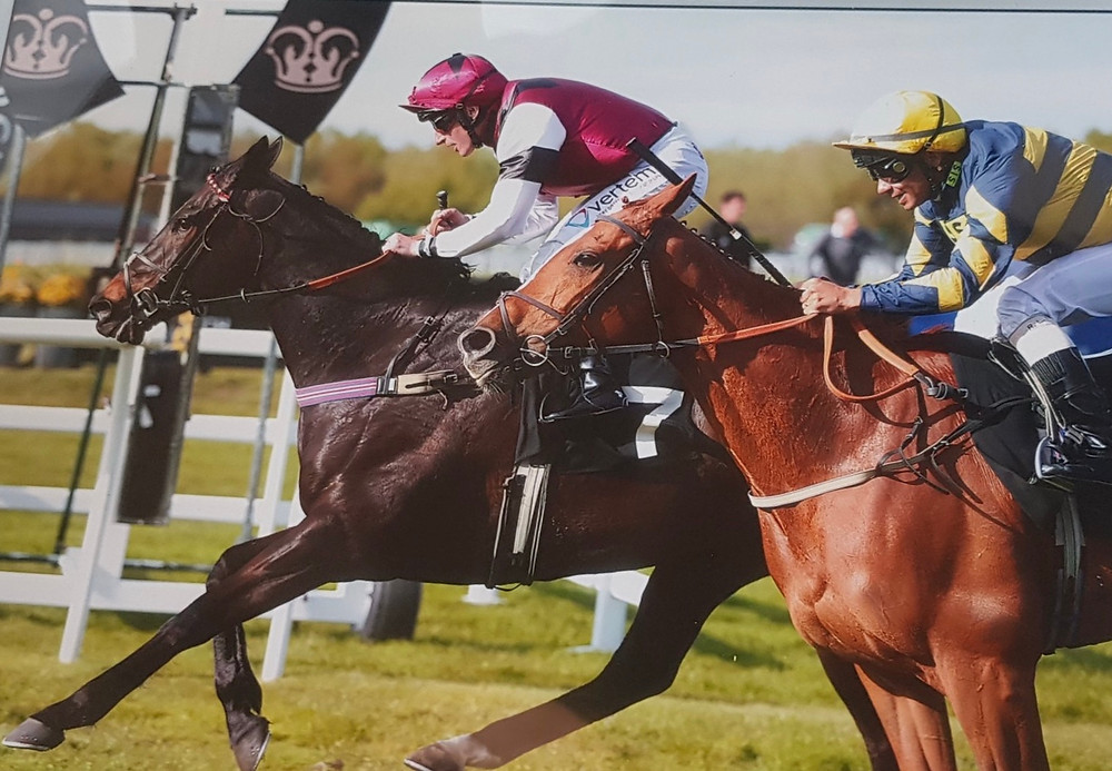 Winning at Musselburgh 13th May under Jockey P J McDonald