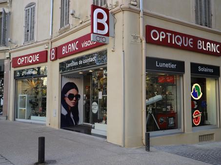 Optique Blanc Salon