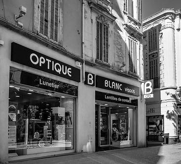Optique blanc salon de provence
