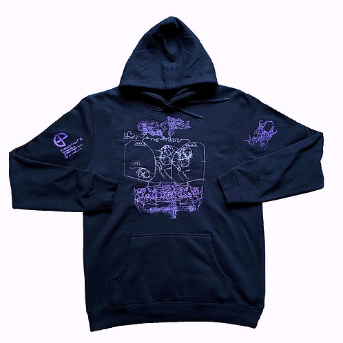 """Sleeper Cell"" One-Off Hoodie"