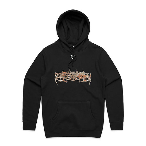 """""""BLADES IN FALL"""" HOODIE, EDITION OF 10"""
